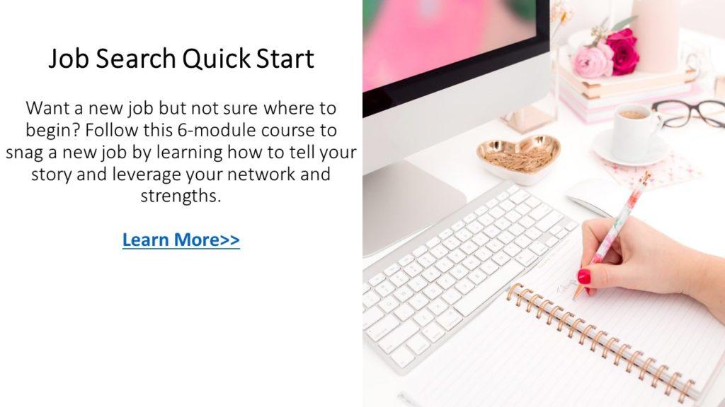 job search course